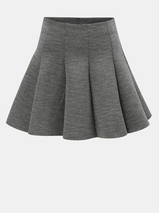 Šedá žíhaná sukně TALLY WEiJL