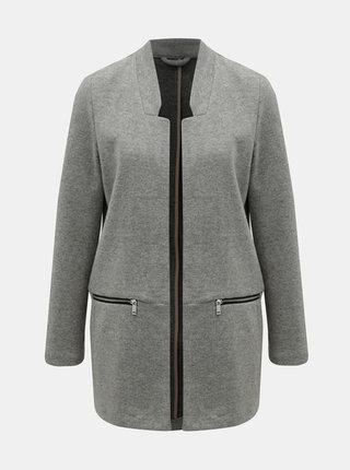 Sivý melírovaný tenký kabát TALLY WEiJL