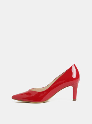 Pantofi rosii din piele Högl