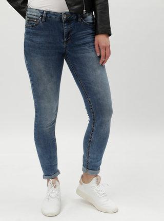 Modré dámské skinny džíny s nízkým pasem Tom Tailor Denim