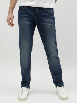 Blugi barbatesti albastri straight Tom Tailor Denim
