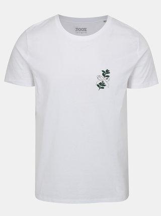 Biele pánske tričko s potlačou ZOOT Myrta