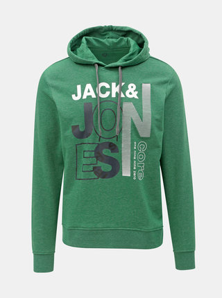 Zelená mikina s potiskem Jack & Jones Tilly