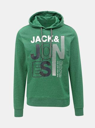 Hanorac verde cu imprimeu Jack & Jones Tilly