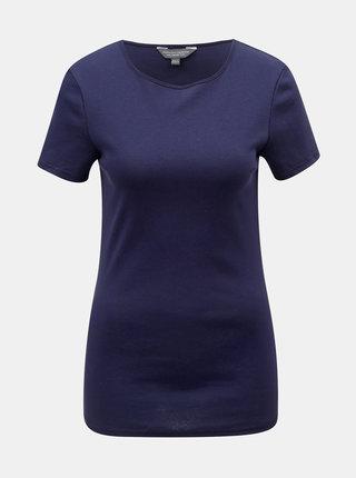 Tmavě modré basic tričko Dorothy Perkins Tall