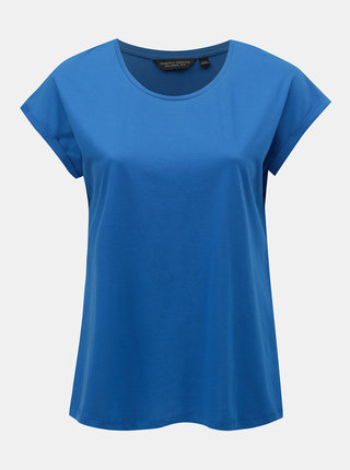 Modré basic tričko Dorothy Perkins Curve