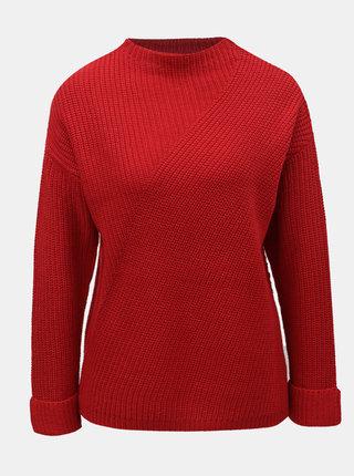 Červený svetr se stojáčkem Dorothy Perkins