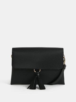 Černá crossbody kabelka s třásněmi Dorothy Perkins