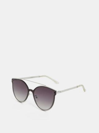 Sluneční brýle ve stříbrné barvě Pieces Saga
