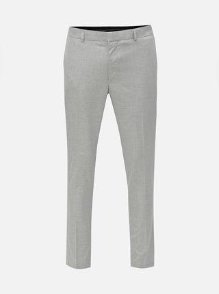 Pantaloni formali gri deschis skinny Burton Menswear London