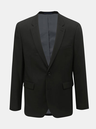 Sacou formal negru slim fit Burton Menswear London