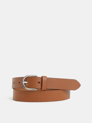 Hnědý dámský kožený pásek GANT