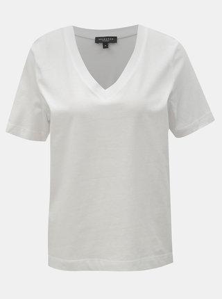 Tricou basic alb Selected Femme Standard