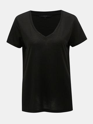 Čierne basic tričko VERO MODA Spicy