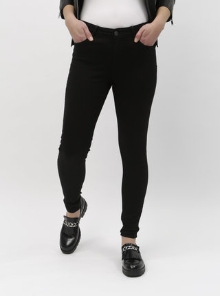 Černé push up slim fit džíny VERO MODA Hot