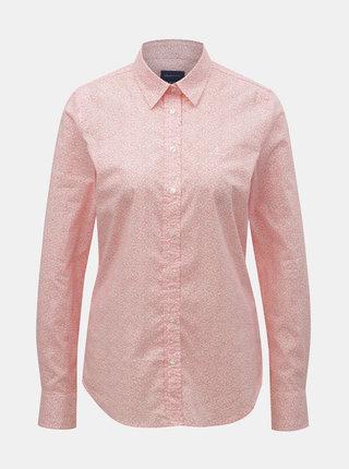 Ružová dámska kvetovaná košeľa GANT
