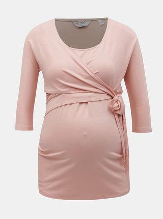 Tricou roz prafuit pentru alaptat Dorothy Perkins Maternity
