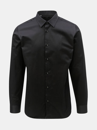Camasa formala neagra slim fit Selected Homme Pen-Pelle