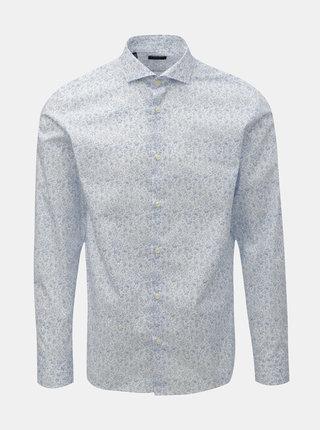 Modro–biela vzorovaná košeľa Selected Homme Sel-Hart