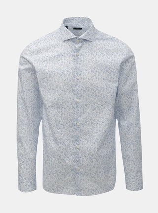 Camasa albastru-alb cu model Selected Homme Sel-Hart