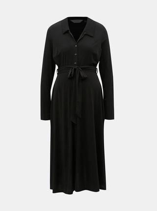 Rochie tip camasa neagra pentru femei insarcinate Dorothy Perkins Maternity