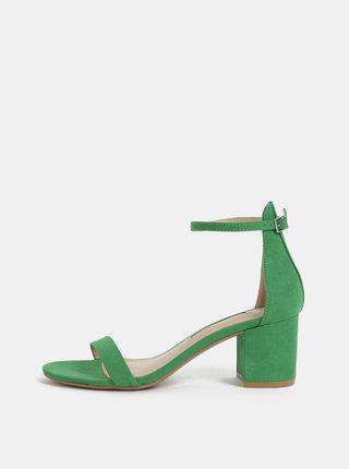 Zelené sandálky Dorothy Perkins