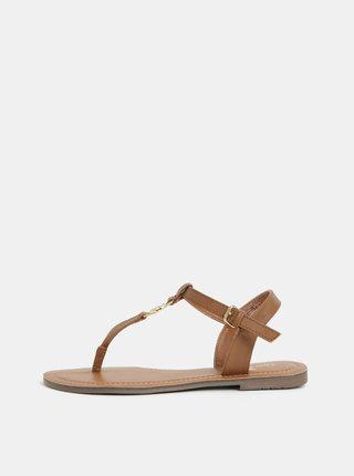 Sandale maro de dama Tom Tailor