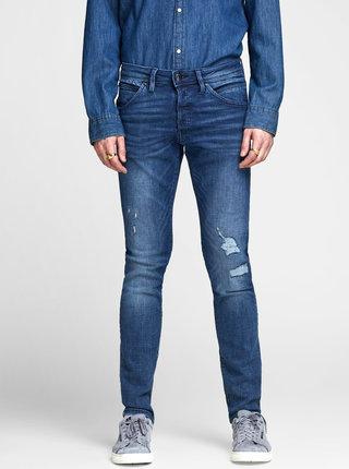 Tmavě modré slim džíny Jack & Jones Glenn