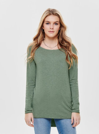 Zelený lehký basic svetr ONLY Mila