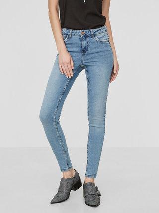 Světle modré skinny džíny Noisy May Lucy