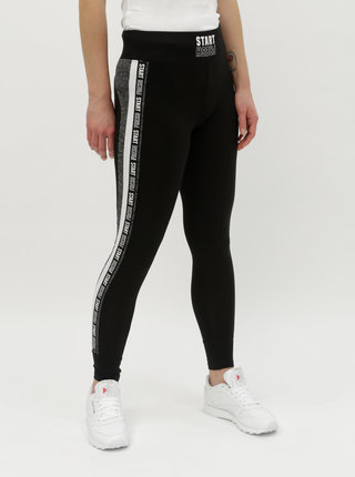 Leggings negri cu dungi pe laturi TALLY WEiJL Beaut 2