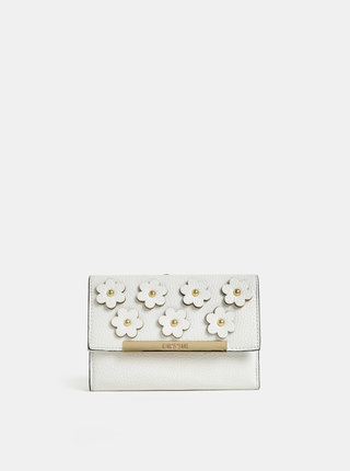 Krémová peňaženka s ozdobnými detailmi Bessie London