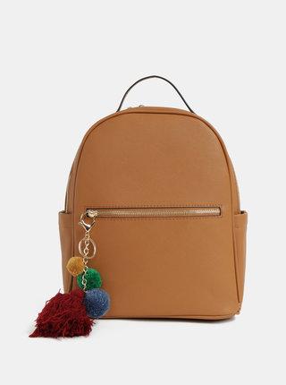 Hnedý batoh so strapcom Bessie London