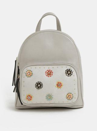 Svetlosivý batoh s aplikáciou Bessie London