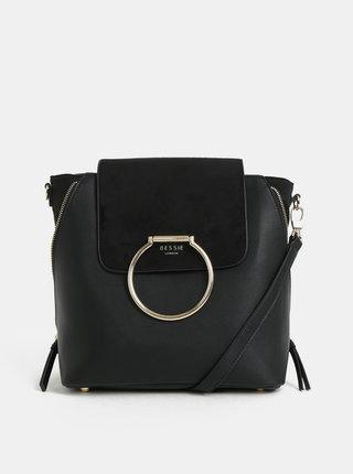 Čierna kabelka/batoh Bessie London