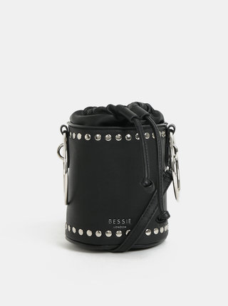 Geanta bucket neagra Bessie London