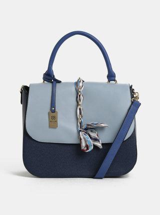 Modrá kabelka s mašľou Bessie London