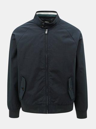 Tmavomodrá tenká bunda Burton Menswear London