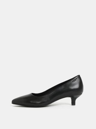 Pantofi negri din piele Vagabond Minna