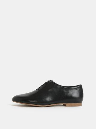 Pantofi negri de dama din piele Vagabond Eliza
