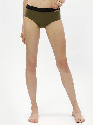 Zelený spodný diel plaviek Calvin Klein Underwear