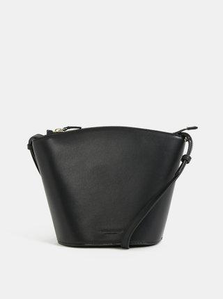 Čierna kožená crossbody kabelka Vagabond Aruba
