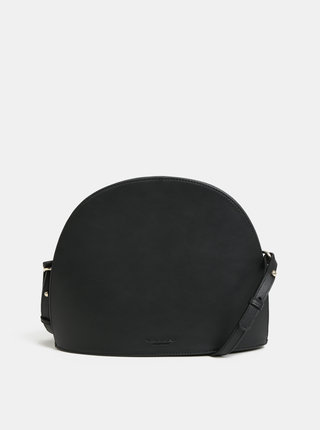 Černá kožená crossbody kabelka Vagabond Shannon
