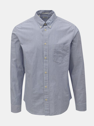 Camasa albastru deschis in dungi regular fit Selected Homme Landon