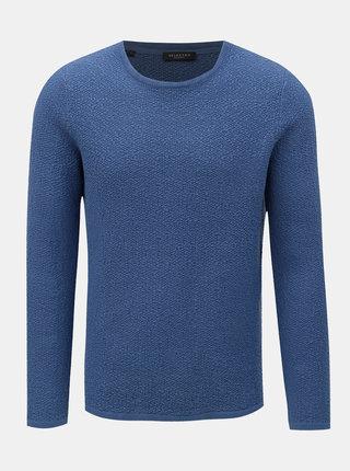 Modrý sveter Selected Homme Clive