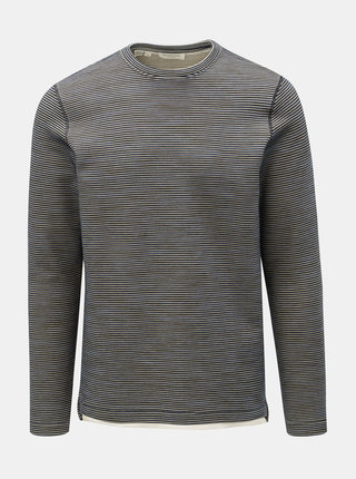 Bluza sport albastru inchis in dungi Selected Homme Ryan