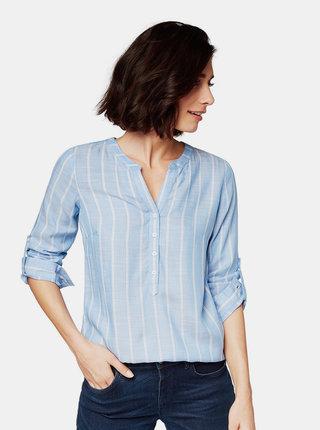 Bluza albastru deschis in dungi Tom Tailor