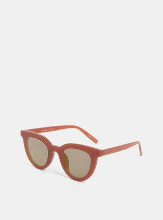 Vínové slnečné okuliare Pieces Bella