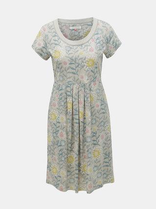 Sivé kvetované šaty Brakeburn Summer Trail