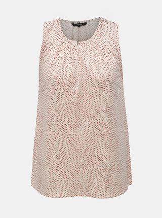 Bluza rosu-alb cu buline VERO MODA Tia